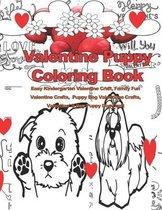 Valentine Puppy Coloring Book