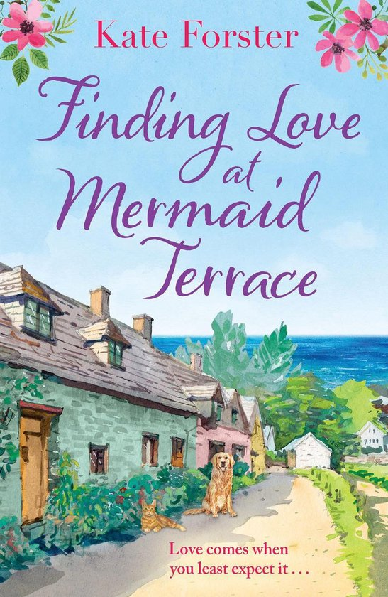 Boek cover Finding Love at Mermaid Terrace van Kate Forster (Onbekend)