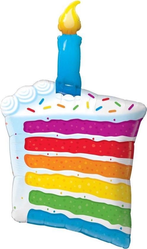 Folat Folieballon Taart 107 Cm
