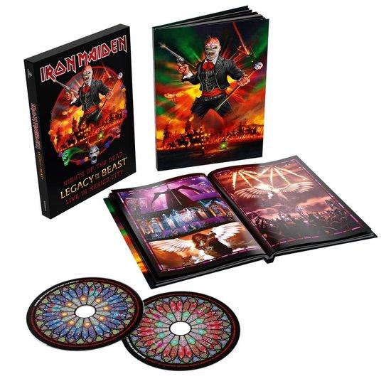 CD cover van Nights Of The Dead (2CD) (Deluxe Edition) van Iron Maiden