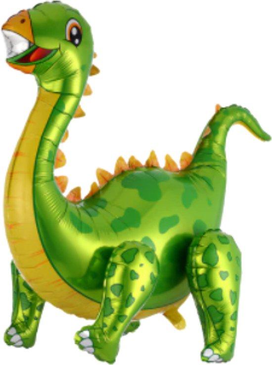Dinosaurus Ballon - XL Groot - 58 x 92 cm - Groen - Dino - Dinosaurus Speelgoed - Dino Ballon - Jurassic World - Jurassic Park