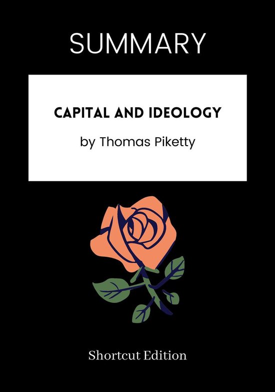 Boek cover SUMMARY - Capital and Ideology van Shortcut Edition (Onbekend)
