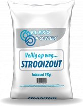 Bleko Power® Strooizout in navulzak 5kg - Bestrijd
