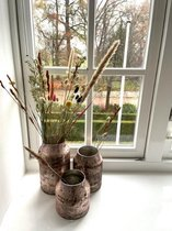 Decoratie Vaas Bloom - Pink - Set van 3