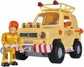 Brandweerman Sam Mountain 4x4 Jeep - Speelgoedvoertuig