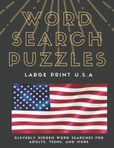 WORD SEARCH PUZZLES Large Print U.S.A