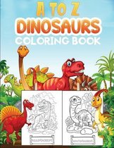 a to z dinosaurs coloring book