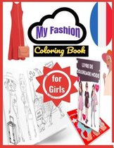 My Fashion Coloring Book for girls