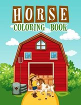 Horse Coloring Book: