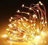 LED strips 2 meter • Sfeerverlichting • LED Verlichting •  Carnaval • Decoreren • DIY • Knutselen • 20 LED's • Waterdicht • Batterij • Warm wit • Paars • Wit • Groen • Blauw • Roze • Rood • RGB • Kerst • Kerstverlichting • Kerstverlichting Buiten