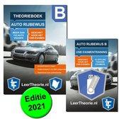 Boek cover AutoTheorieboek 2021 Rijbewijs B AutoTheorieboek voor Nederland + USB Stick Theorie-Examens van Leertheorie