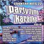 Party Tyme Karaoke: Country Hits, Vol. 22