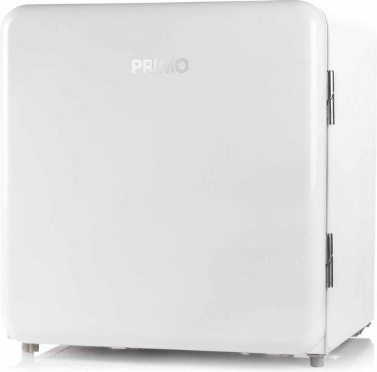 Koelkast: Primo PR110RKW Retro mini koelkast - 47L - Wit, van het merk PRIMO