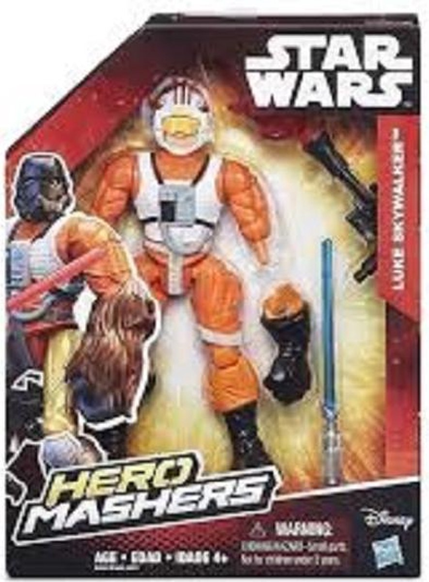 Star Wars Hero mashers Luke Skywalker