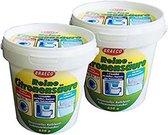2 x puur citroenzuur 650g, citroenzuur, kookplaatschoonmaakmiddel - Geel