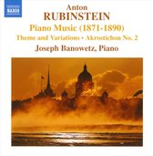 Joseph Banowetz - Rubinstein: Piano Music