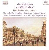 Rajter/Seipenbusch - Zemlinsky: Sym.Nos.1 & 2