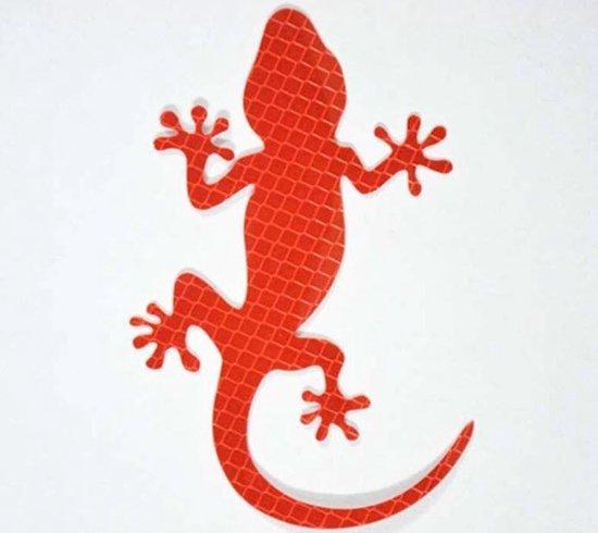 Auto Reflecterende Sticker , Waarschuwing Tape, Reflecterende Strips, Veiligheid Mark, krokodil - rood
