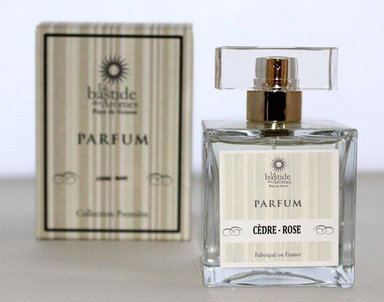 Rozen Parfum (Originele sterke Rozen parfum met houtige ondertoon) van het Parfumhuis La Bastide des Aromes