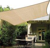 LOUZIR Outdoor Waterdicht zonnescherm Sail- Tuin terras zeil- rechthoekig Schaduwdoek