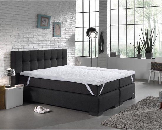 Swiss Nights 7-zone Topper - Micropercal - 140 x 200 - Wit