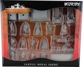 WizKids Deep Cuts Unpainted Miniatures - Towns People: Castle I