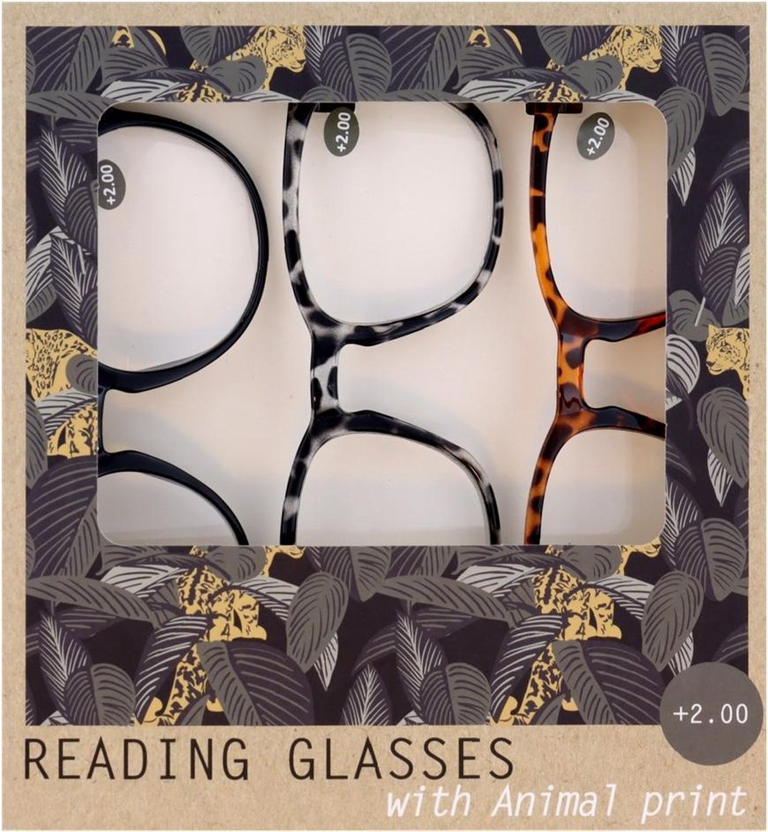 WDMT™ Leesbrillen met dierenprint kopen