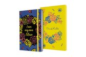 Moleskine Limited Collectors Edition Frida Kahlo, Large, Blue, Plain (5 X 8.25)
