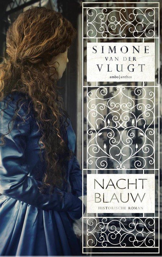 Boek cover Nachtblauw van Simone van der Vlugt (Onbekend)