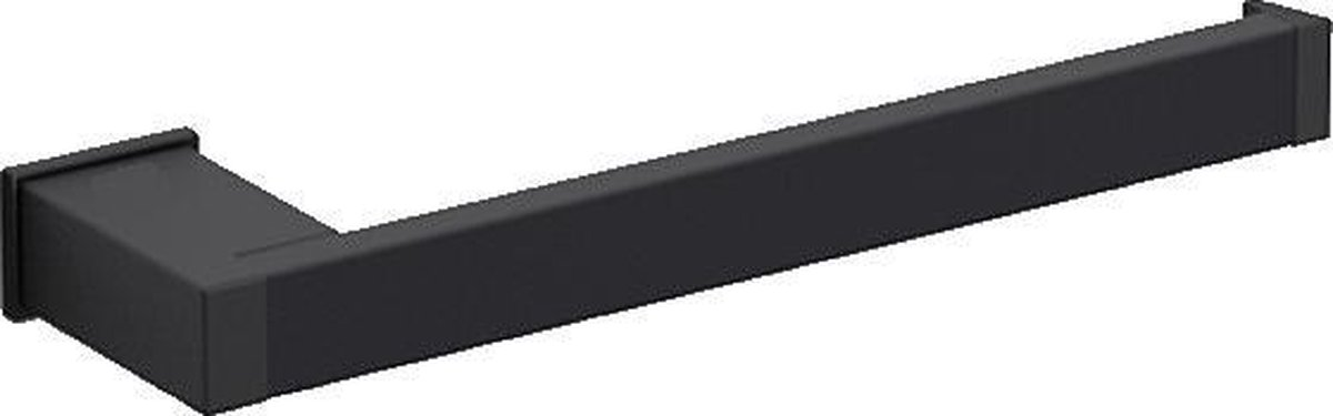 Handdoekhouder Cube zwart 232mm