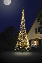 Fairybell LED Buiten Kerstboom voor in de vlaggenmast - 6 meter - 900LEDs - Warm wit