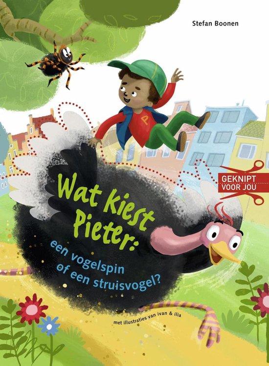Geknipt voor jou - Wat kiest Pieter: een vogelspin of een struisvogel?