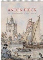 Verjaardagskalender Anton Pieck 'Zicht op haven' A4