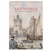 Anton Pieck Verjaardagskalender - Zicht op haven (formaat A4) - Multi