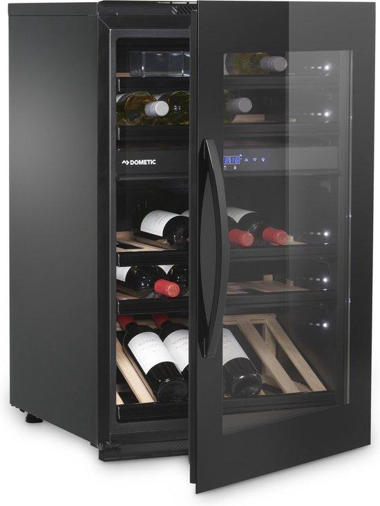 Koelkast: Dometic Elegance E49FGB  - Wijnklimaatkast - 49 flessen -, van het merk Dometic Elegance