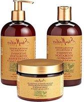Shea Moisture Manuka Honey & Mafura Oil Intensive Hydration Combination Set – Includes 13 oz. Shampoo, 13 oz. Conditioner & 12 oz. Hair Masque