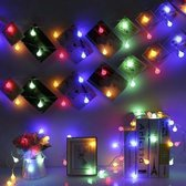 Lumadi Gekleurde Lichtslinger Binnen en Buiten – Lichtsnoer –  Fairy Lights - Kleuren Lampjes Slinger