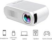 Mini Beamer YG320 - Projector - Home LED Mini Draagbare 1080P HD WIT