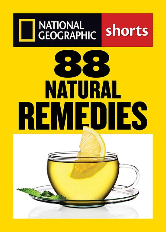 Boek cover 88 Natural Remedies van National Geographic (Onbekend)