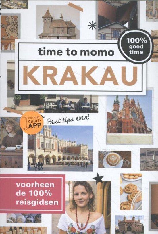 Boek cover Time to momo  -   Krakau van Ingrid Vanden Berk (Paperback)