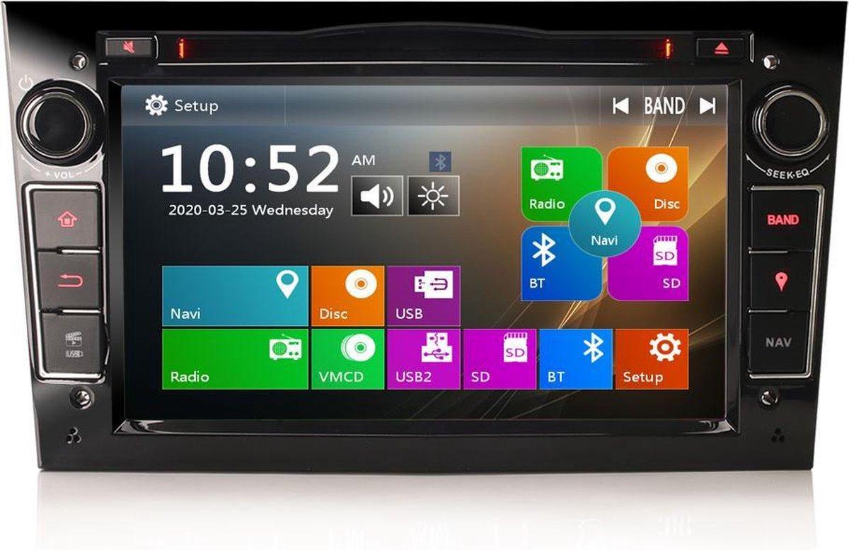 Opel Bluetooth Autoradio | Aux en USB | Zwart | EU Navigatie
