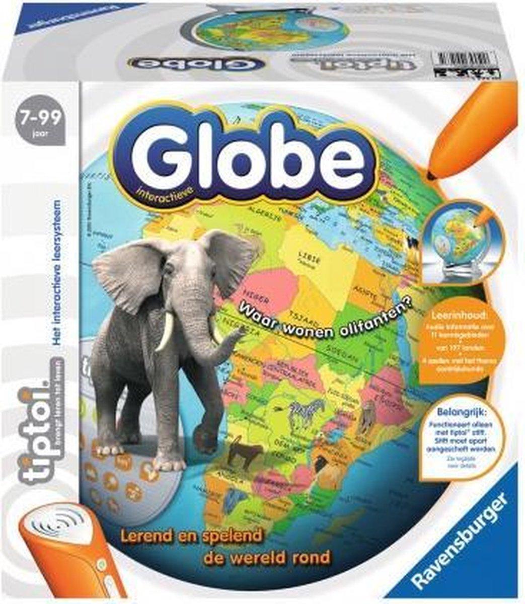 Ravensburger tiptoi® interactieve globe wereldbol