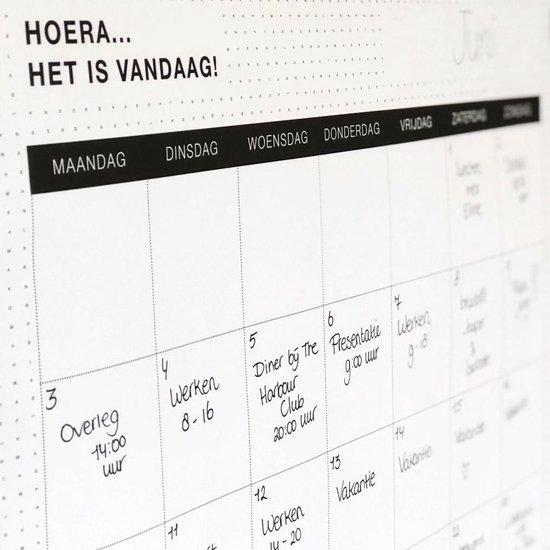 12 Grote maandplanner posters + 1 GRATIS!