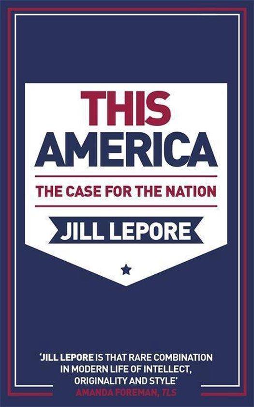 Boek cover This America van Jill Lepore (Paperback)
