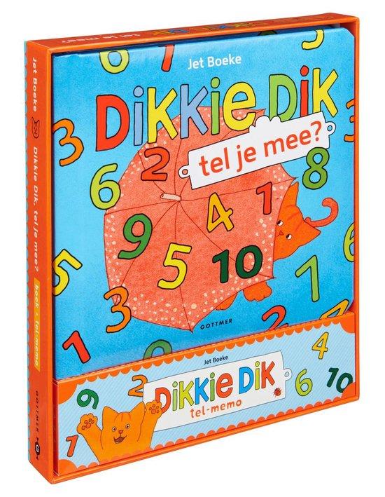Boek cover Dikkie Dik  -   Dikkie Dik tel je mee? + telspelletje van Jet Boeke (Hardcover)