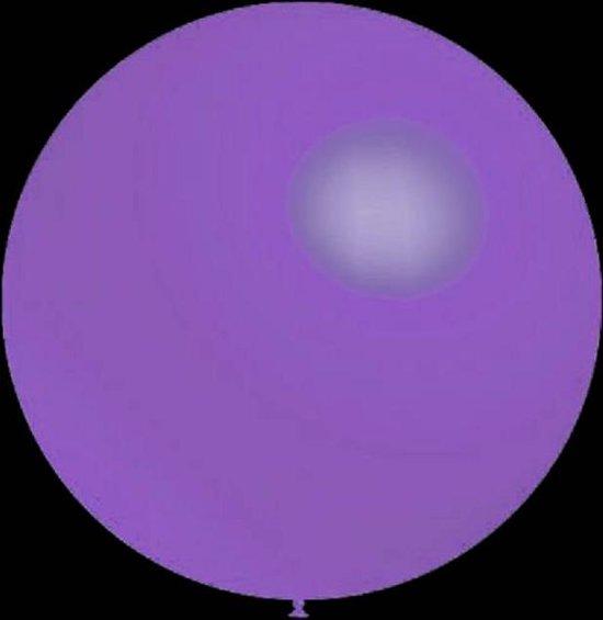 100 stuks - Decoratieballonnen lavendel pastel  28 cm