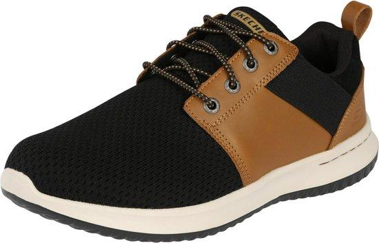 Skechers sneakers laag delson brant Bruin-44