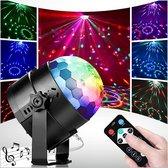 Achaté Discolamp met Afstandsbediening - voor Kinderen en Volwassenen - Feestverlichting - Disco Bal - Discoverlichting - Disco Lamp