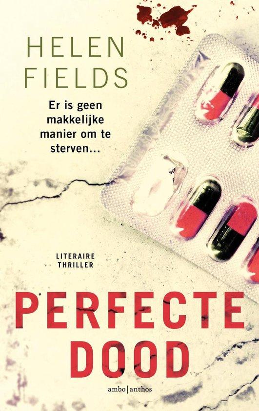 Boek cover Perfecte dood van Helen Fields (Onbekend)