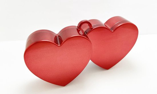 Ballongewicht - Dubbel hart - Rood